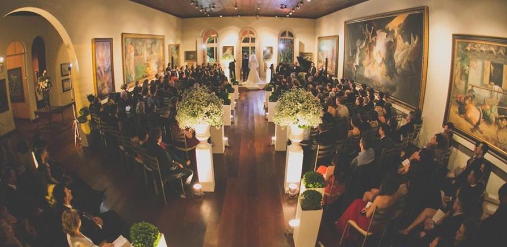 Um casamento no museu | Sempre Noiva