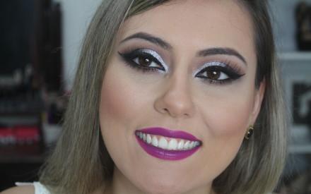 Maquiagem para o Carnaval | Juliana Lago