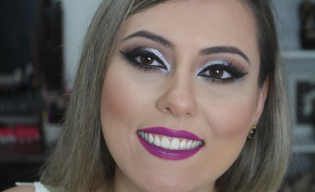 Maquiagem para o Carnaval   Juliana Lago