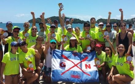 Maratona aquática em Bombinhas | FrancisSwim
