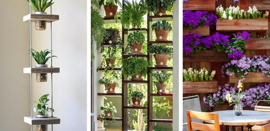 10 ideias para fazer uma horta ou jardim vertical | Além do Look do Dia