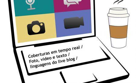 Curso sobre coberturas em tempo real dia 10 de dezembro